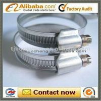 germany type cross screw worm drive hose clamp