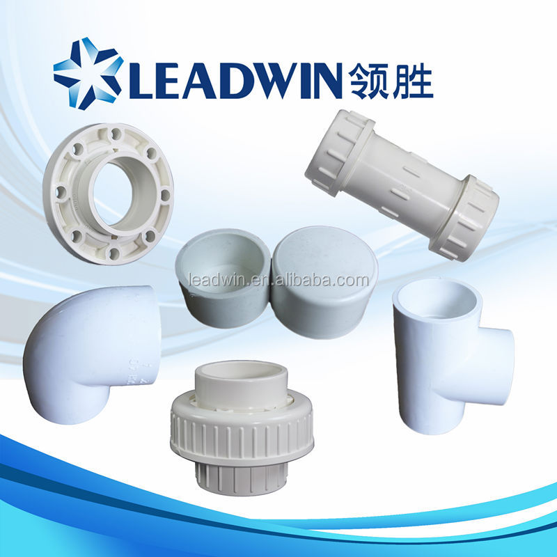 Types of plumbing materials plastic pvc pipe fittings for Plastic plumbing pipe types