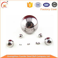 SGS qualified Dia 3/8 inch (9.525 mm) AISI 201/304 stainless steel ball