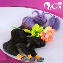 brazilian virgin remy human tape hair extension body wave ombre 2 tone 1b purple heart mini micro tape hair extensions