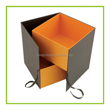 Custom rectangle folding paper box packaging,High qulity kraft paper box for gift,China factory foldable paper box
