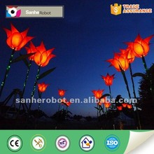 Inventive popular lighted flower decoration