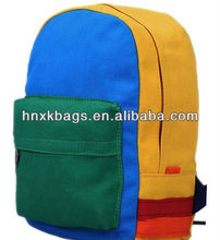 2012 popular style colorful backpack with nice simple design