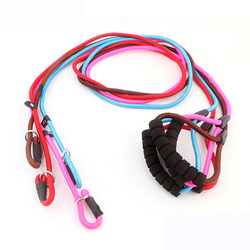Good quality for nylon leash for dog running,wholesale running dog leash