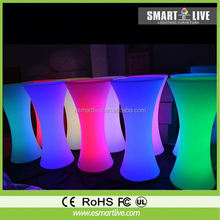 2015 new design led nail bar furniture for sale/led bar furniture
