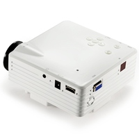 Mini Projector vivibright GP7S Home Theater 1080P 320*240Pixels LED Portable Projector High Definition