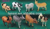 Plastic Farm Animals figures Plastic Farm Animals Toys