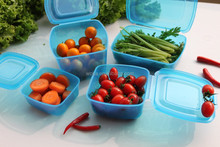 Useful Transparent Plastic Container 11pcs Container