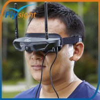H1424 FPV GOGGLE / Video Glasses SPX01 with 5.8G 32CH Wireless Diversity Receiver For Long Range RC Helicopter