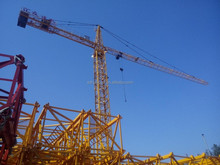 QTZ63 TC5610 Cheap Construction Machinery Tower Crane Anchorage 150m for real estate in India