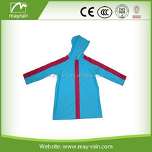 Wholesale PU Waterproof Foldable Rain Jacket