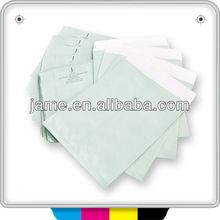2014 design personalizado de alta qualidade e2 acolchoado envelopes brancos / utentes