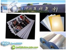 HP/Epson Printing White/Silver/Golden Inkjet Printable 0.3/0.18/0.15mm Digital Printing A4 Size PVC Inkjet Sheet