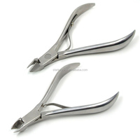 factory wholesale useful stainless steel cuticle nipper for nail cutter nail art clipper manicure pedicure tool