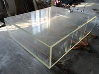 acrylic bullnose fish tank
