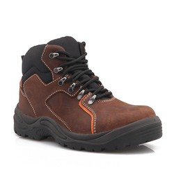 Goodyear Welted Split Embossed boots/safety shoe manufacturer/lightweight safety boots