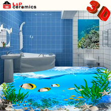 free sample high quality grade AAA porcelain 3d flooring for bathroom floor and wall