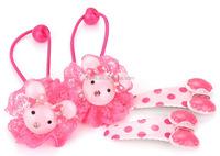 Pretty Baby Hair Elastics, Cute Baby Hair Accessories, Baby Girl Headband Sets
