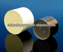 Euro 3 used for motorcycle exhaust system ceramic catalyst