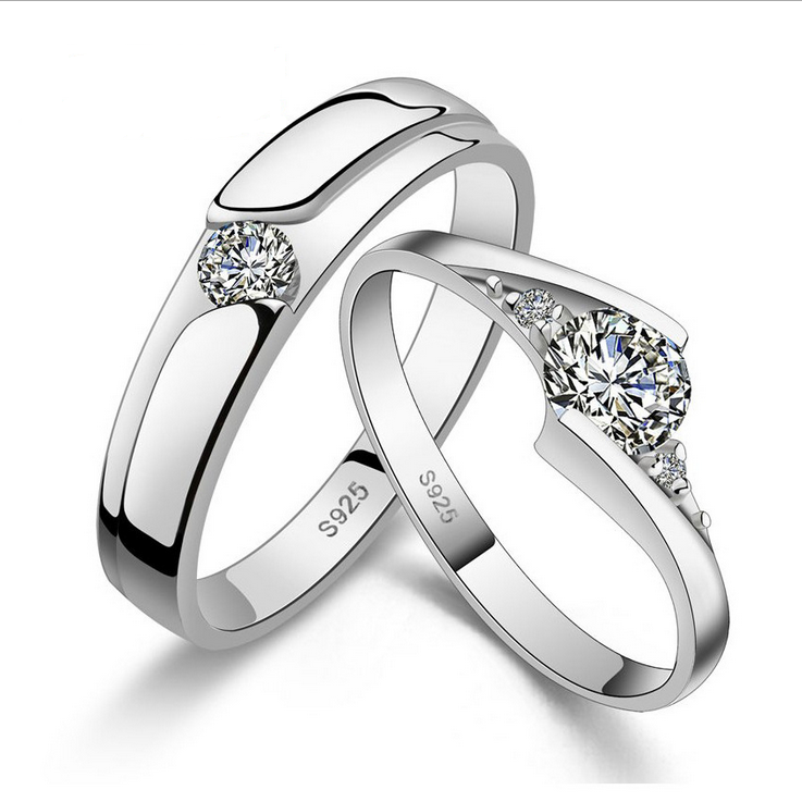925 wholesale sliver rings cheap silver jewelry
