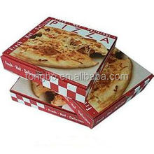 Popular Custom Various Size Printed Packing Cheap Pizza Box