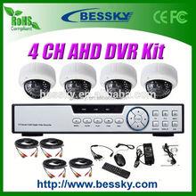 1.0/1.3 Megapixel HD CCTV Camera kit ahd ptz 2.8-12mm Manual Zoom Lens