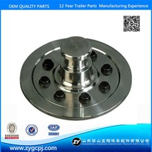 Shandong zy brand hardening bolted king pin 2'' and 3.5''