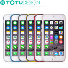 Promotinal Wholesale Extremely Cheap High Quality TOTU Bumper Case for iphone 6