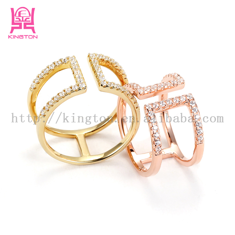 925 sterling silver 14k gold plated rings jewelry. Black Bedroom Furniture Sets. Home Design Ideas