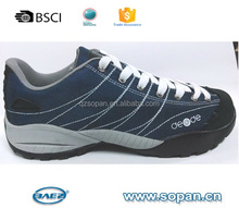 canvas and suede leather outdoor sport shoes men women shoes