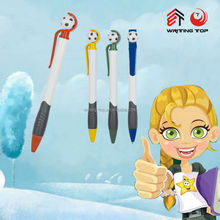 wholesale 2015 cheapest cartoon shape ball pen