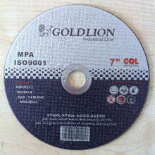 "Gold lion abrasives cutting disc/cutting wheel / 7""cut-off wheel"