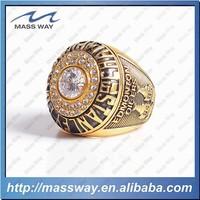 high grade fashion championship custom diamond brass mens ring
