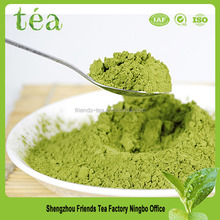Chinese matcha green tea with packaging