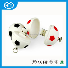 Special design football shape usb flash drive bulk cheap, usb flash pen drive 500gb