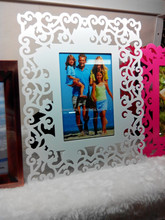 Elegant and modern customized acrylic photo stand, picture frame