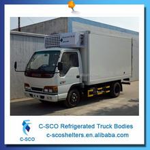 China mini box van truck, hot sale mini box van truck