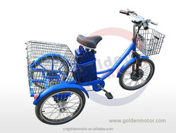 Electric Cargo Tricycle/adult electric tricycle/pedal cargo tricycle