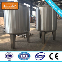 SS 304 Stainless steel tank water softener water filter tank