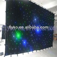 Star curtains manufacturers led curtain