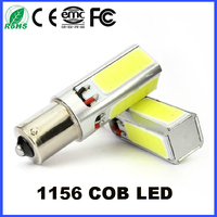 20W 1156 P21W BA15S COB LED Lamp Auto bulb LED 12V 24V YELLOW RED White 700LM Reading light, License plate light