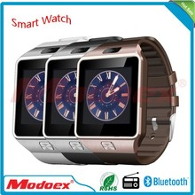 2015 lateset bluetooth smart watch mobile phone