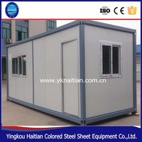 Shipping prefab modular container house easy to designs and install,expandable container house