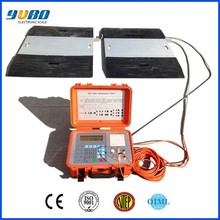 Integrated design portable wired axle weighing scale