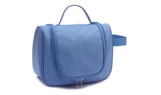 Gros polyester contenu voyage modella sac à cosmétiques pour femmes