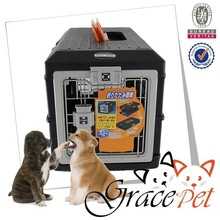Fodable pet kennel air conditioned pet carrier