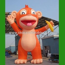 Guangzhou Cheap Price promotional inflatable monkey for party/event H7-0318