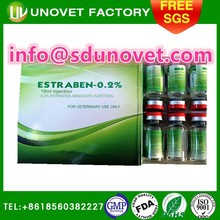 sheep,cattle usage hormone,5ml.10ml.100ml Estradiol Benzoate 0.2% injection
