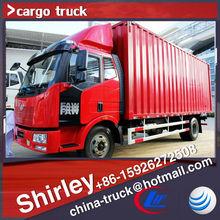 Faw camiones van, caja de carga seca de camiones chengli automobile co., ltd