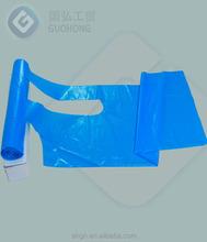 polyethylene disposable apron/gardening protective waterproof apron/low price pe apron